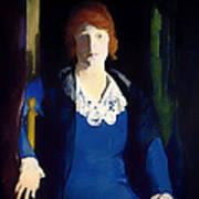 Portrait Of Florence Pierce Poster