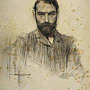 Portrait Of Gustave Violet Poster