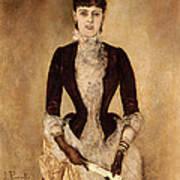 Portrait Of Isabella Reisser Poster