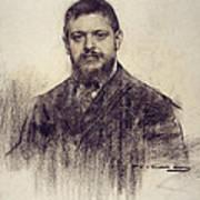 Portrait Of Jaume Carner Poster