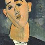 Portrait Of Juan Gris Poster