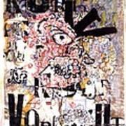 Portrait Of Kurt Vonnegut Poster