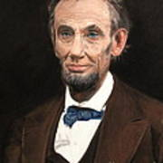 Portrait Of Lincoln Poster