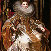 Portrait Of Maria Serra Pallavicino Poster