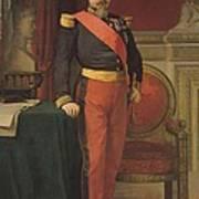 Portrait Of Napoleon IIi 1808-73 1862 Oil On Canvas Poster