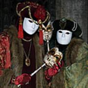 Venetian Carnival - Portrait Of Nobles Poster
