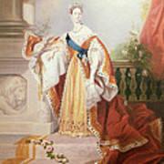 Portrait Of Queen Victoria Poster