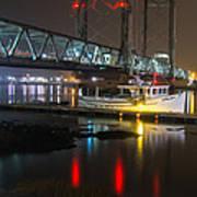 Portsmouth Harbor Boats 2 Poster