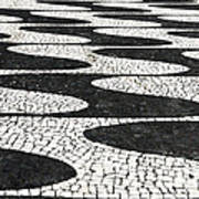 Portuguese Pavement Poster