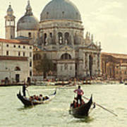 Postcard From Venice Poster