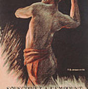 Poster Advertising The French National Loan Poster by B Chavannaz
