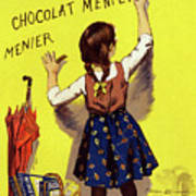 Poster Chocolate, 1893 Poster