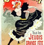 Poster For Le Bal Bullier. Meunier, Georges 1869-1942 Poster