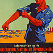 Poster Promoting Emigration To Canada Poster