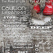 Potholes Of Life Poster