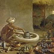 Potter In India, 1790s Poster