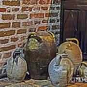 Pottery Corner Poster