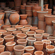 pottery in Madagascar Poster