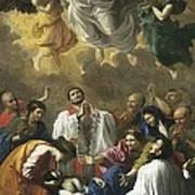 Poussin, Nicolas 1594-1665. Saint Poster