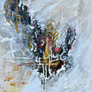 Powerful - Abstract Art Poster by Ismeta Gruenwald