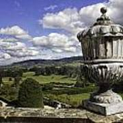 Powis Castle Garden Urn Poster