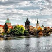 Prague Panorame Poster