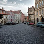 Prague Old Town Poster