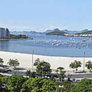 Botafogo Beach Poster