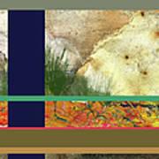Prairie Grasses Amid The Rocks Poster