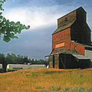 Prairie Sentinel Poster