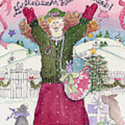 Praise The Lord Christmas Poster