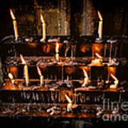 Prayer Candles Poster