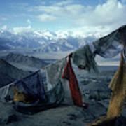 Prayer Flags Leh Ladakh Poster