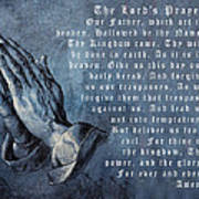 Praying Hands Lords Prayer Poster by Albrecht Durer