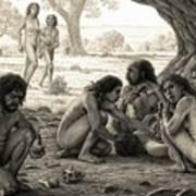 Prehistoric Cannibalism Poster