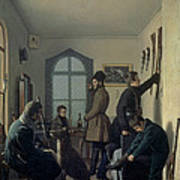 Preparations For Hunting, 1836 Poster