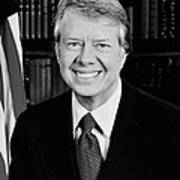 President Jimmy Carter  Poster by War Is Hell Store