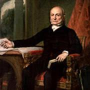 President John Quincy Adams  Poster
