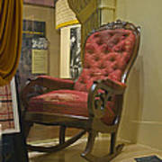 President Lincoln's Chair Poster
