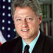 President William J. Clinton Poster