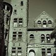 Preston Castle Tower Poster
