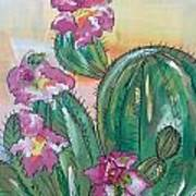 Prickly Pear Poster by Karen Carnow