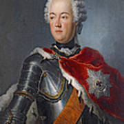 Prince Augustus William Oil On Canvas Poster