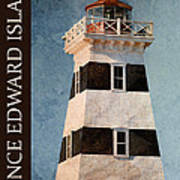 Prince Edward Island Lighthouse Poster