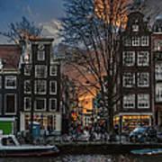 Prinsengracht 743. Amsterdam Poster