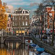 Prinsengracht 807. Amsterdam Poster