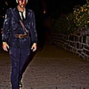 Prison Guard Zombie Poster