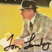 Pro Football Coach Tom Landry Poster