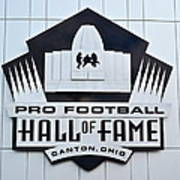 Pro Football Hall Of Fame Poster