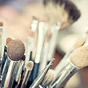 Professional Makeup Brush Poster